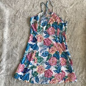 Tropical Patterned Dress